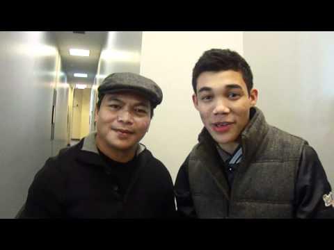 Roshon Fegan AKA YaBoyRo and dad DirectorActor Roy Fegan w N91Live sho Jun Lorenz