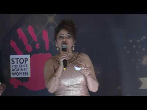 Mrs & Mr  IAWA India 2017  curtain raised by  Deepak Balraj Vij &  Daljeet Kaur Ms Universe 2016 Par