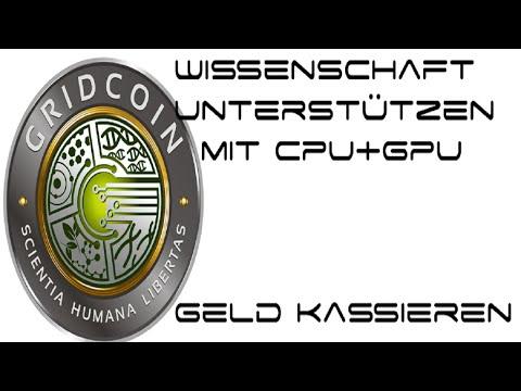 Geld Verdienen Durch Rechenleistung Für Wissenschaft (Gridcoin+BOINC) [Ger/HD]