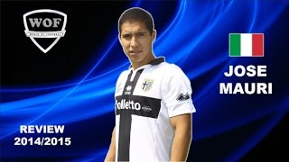 JOSE MAURI | Parma | Goals, Skills, Assists | 2014/2015  (HD)