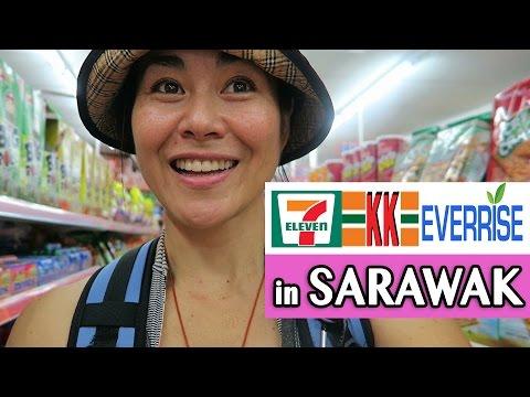 7 ELEVEN IN SARAWAK  Vs KK SUPERMARKET Vs EVERRISE | Shopping In Kuching