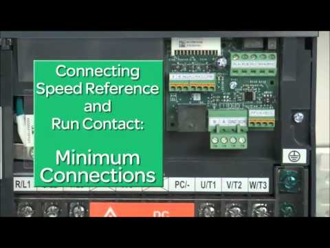 How to Wire Control Wiring for an HVAC Variable Speed / Frequency Drive (VFD) Altivar 212