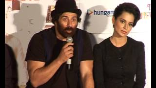 I Love New Year | First Look Event | Sunny Deol, Kangana Ranaut