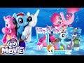 New My Little Pony The Movie 2017 Glitter & Style Seapony Pinkie Pie Rainbow Dash Rarity