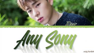 Gambar cover ZICO (지코) - 'ANY SONG' (아무노래) Lyrics [Color Coded_Han_Rom_Eng]