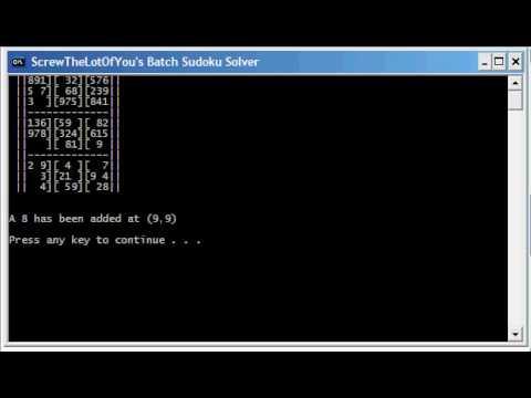 how to make a batch program
