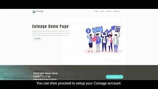 Coin Age Exchange Demo Tutorial - Blockchain App Factory.
