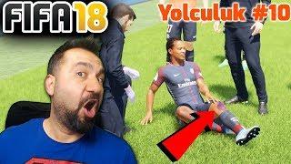 ALEX HUNTER SAKATLANIRSA NE OLUR? (2 AY YOK)! | FIFA 18 YOLCULUK #10