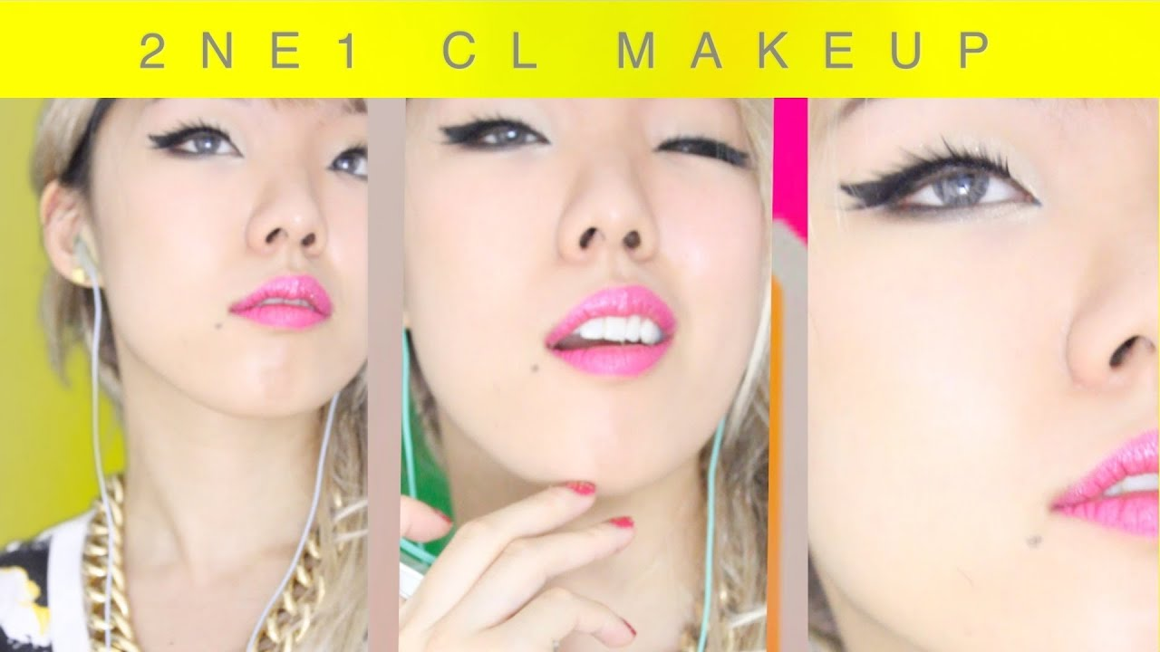 "2ne1 CL Makeup Tutorial -- ""Gotta Be You"" Kpop Inspired"