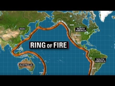 Countries Affected By Pacific Ring Of Fire