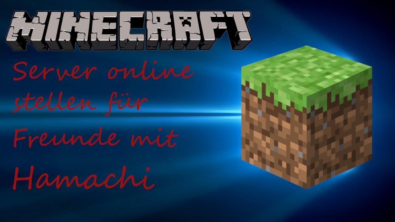 Server Für Freunde Online Stellen Mit Hamachi Minecraft Server - Minecraft server erstellen fur freunde