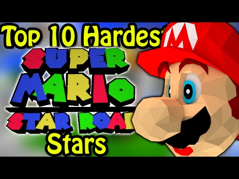 Top 10 Hardest Super Mario Star Road Stars (Ft. Simpleflips)