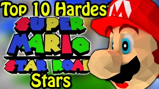 Top 10 Hardest Super Mario Star Road Stars (Ft. Simpleflips)