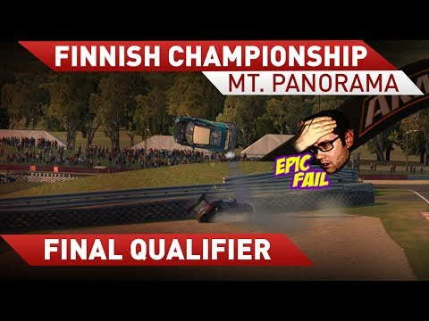 iRacing: eSM final qualifier race with Porsche 911 GT3 Cup at Bathurst