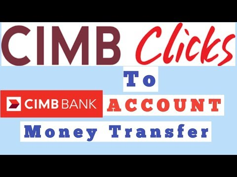 #Transfer #Money Easily with CIMB #Clicks | Cara transfer duit guna cimb clicks baru 2018 -2019
