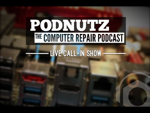 Podnutz - The Computer Repair Podcast #108 - Emails & Virus Removals