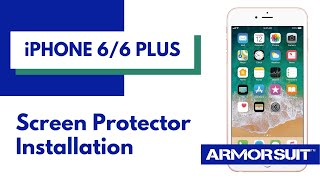 iPhone 6 / iPhone 6 Plus Screen Protector Installation Instructions by ArmorSuit MilitaryShield