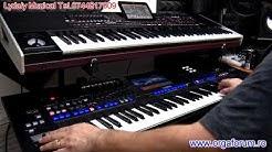Comparison Korg Pa4X VS Yamaha Tyros 5 w MusicExpress