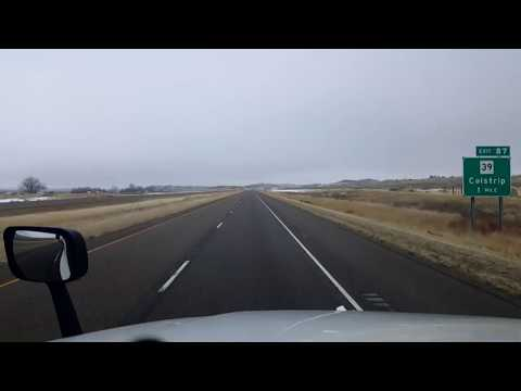 BigRigTravels LIVE! Hysham, Montana to...Interstate 94 East-Nov. 3, 2017