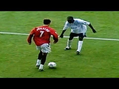 Cuando Cristiano Ronaldo Jugaba En El Manchester United