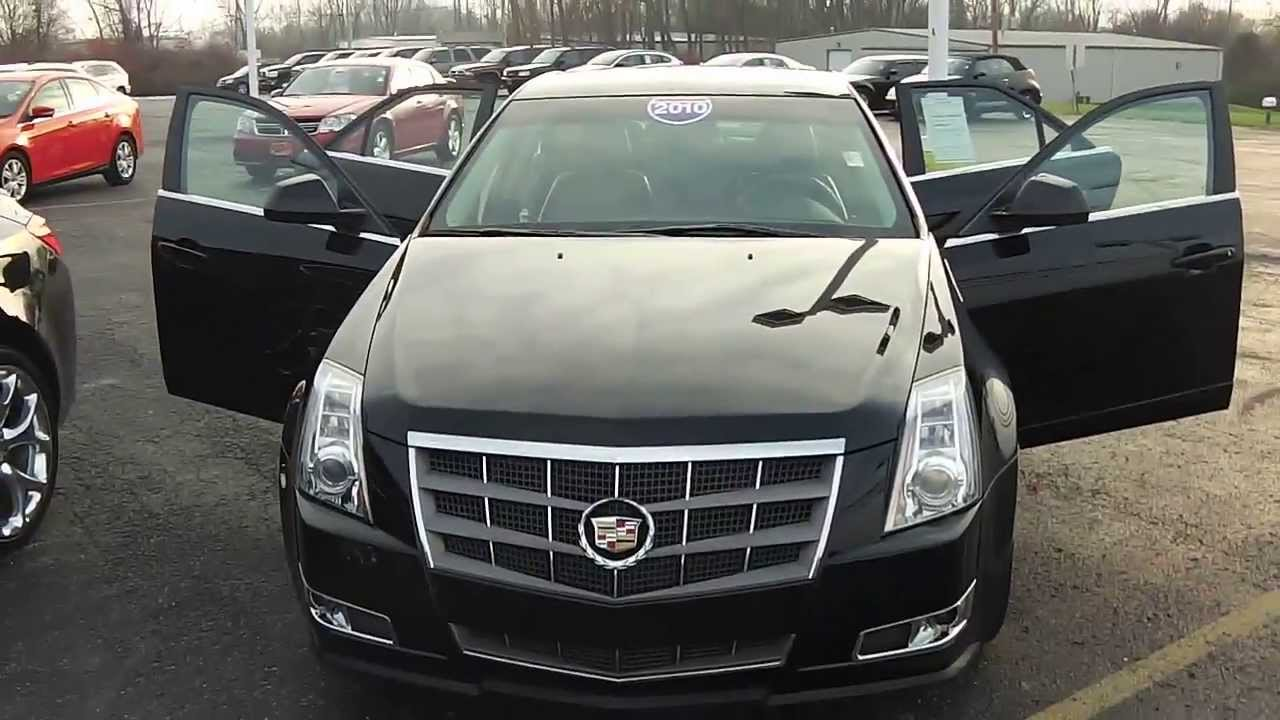 2010 Cadillac Cts Premium Sedan Black Used Car Dealer