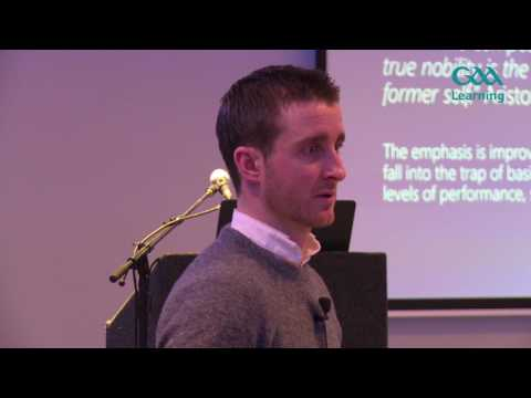 GAA Games Development Conference 2017 - David Herity