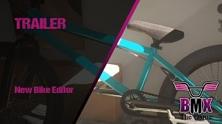 BMX The Game :  Customize your own bikes & ride them!