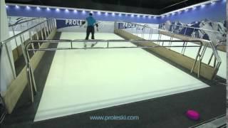 Горнолыжный тренажер Proleski обучение и катание на лыжах и сноуборде