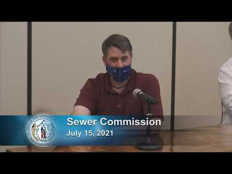 Sewer Commission 7-15-21