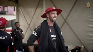 Glenn Maxwell's first RCB training session | RCB Bold Diaires