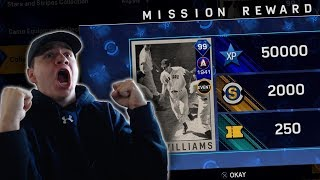 ALL MLB COLLECTIONS COMPLETED 99 TED WILLIAMS UNLOCKED  MLB The Show 17 Diamond Dynasty