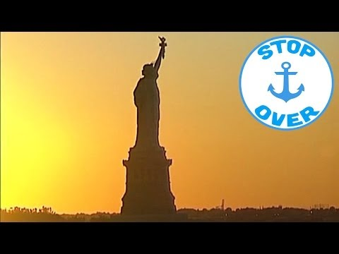 New York and the colonial America on board the Silver Cloud (Documentary, Discovery, History)