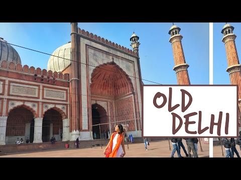#SejalVlogs: Exploring Old Delhi (Chandni Chowk, Red Fort, Jama Masjid)!