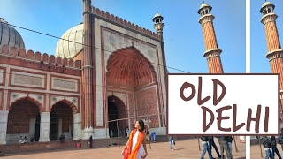 #SejalVlogs: Exploring Old Delhi (Chandni Chowk, Red Fort, Jama Masjid)!