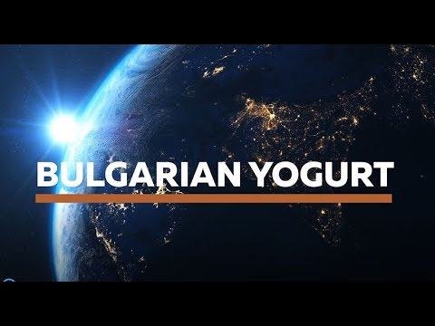 THE FAMOUS BULGARIAN YOGURT