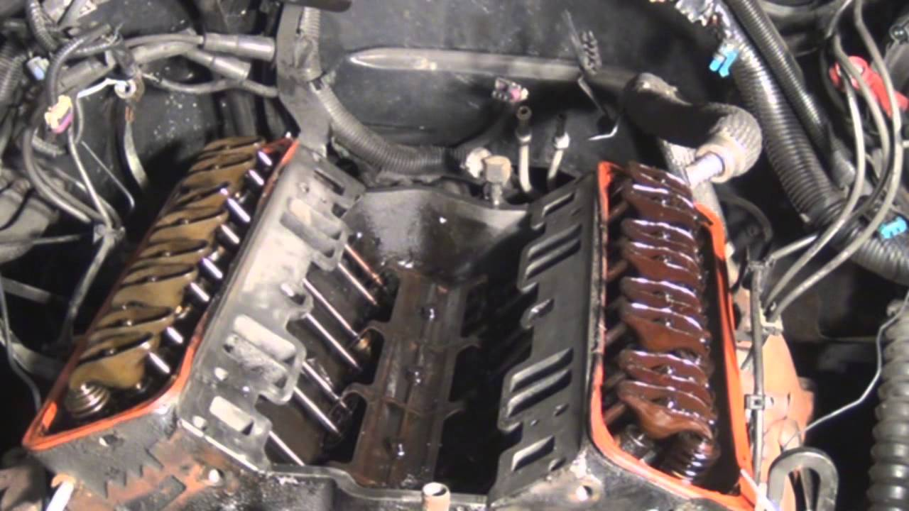 hight resolution of intake manifold and gasket preparation and installation