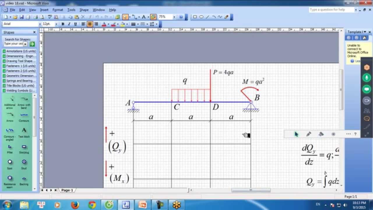Tạ Đức Tâm – Trực tuyến buổi số 4: Cách vẽ nhanh biểu đồ nội lực – Sức bền vật liệu