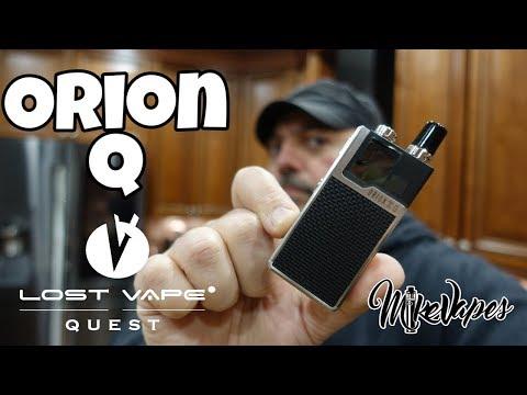 Orion Q Pod Vape By Lost Vape Quest - Mike Vapes