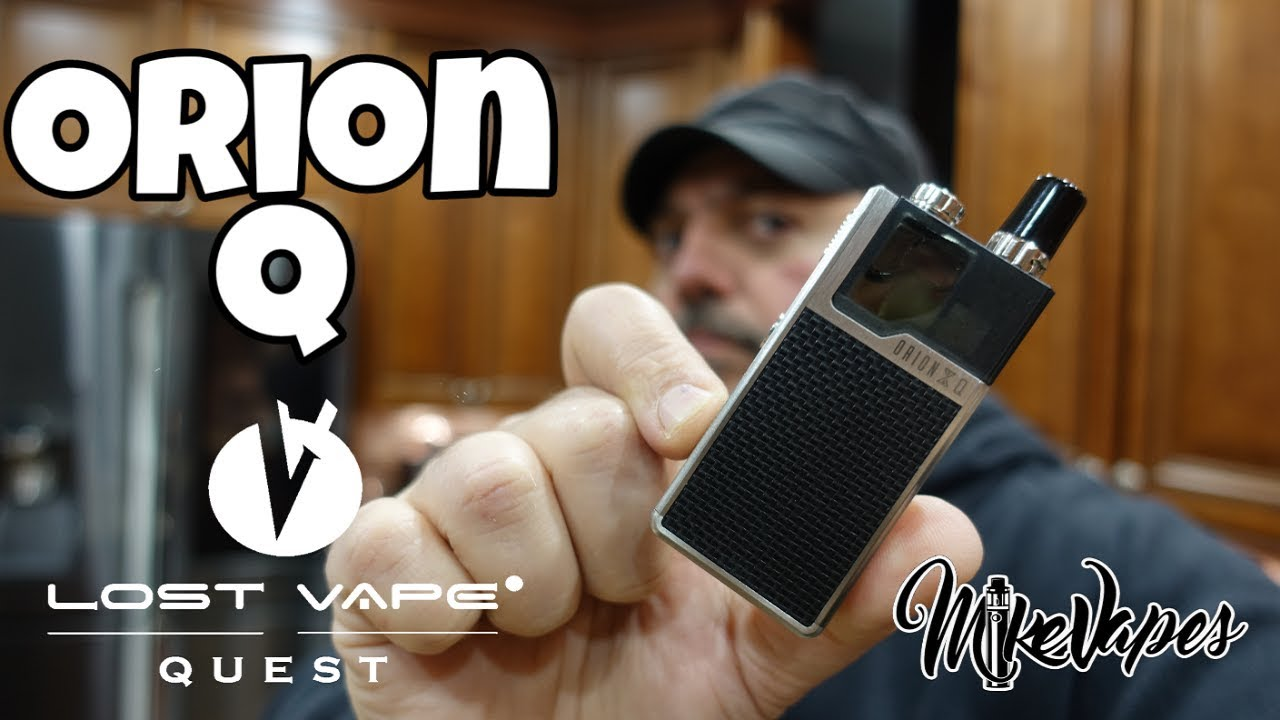 Orion Q Pod Vape By Lost Vape Quest - Mike Vapes
