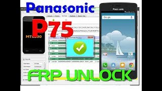 Panasonic P75 Google Account Verification Bypass Frp And Gmail Forget Solution done 1000% ok