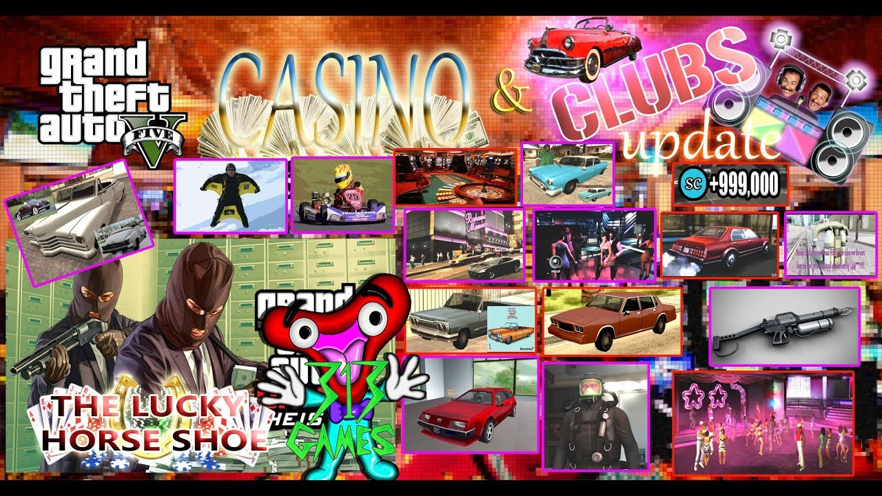 9d58d9ac5926 GTA V The Lucky Horse Shoe Casino! Ending Updates Part 02 - YouTube