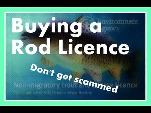How To Buy A UK Rod Licence Online. Dont Get Scammed.