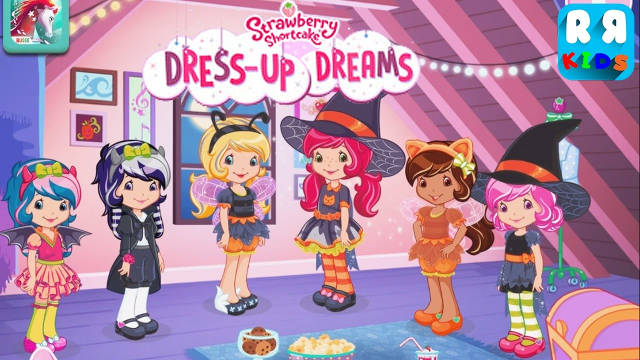 Strawberry Shortcake Dress Up Dreams Special Halloween