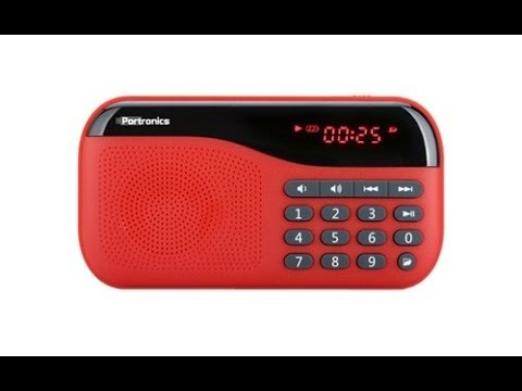 Portronics POR FM Radio with MicroSD card support