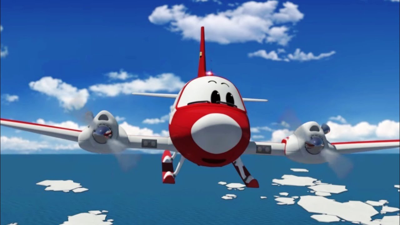 Airplane Cartoon For Kids The Airport Diary Winky Goes