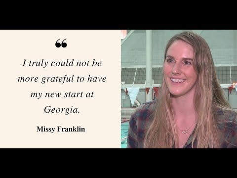 EXCLUSIVE: Olympian Missy Franklin embraces new beginnings as a Georgia Bulldog