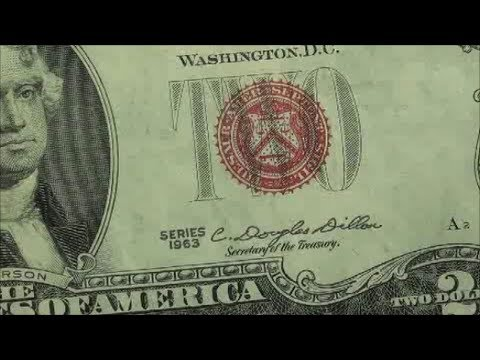 RED SEAL $2 BILL 1963