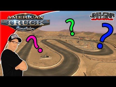 American Truck Simulator Easter Egg Hunt #23 Tucson Race Track