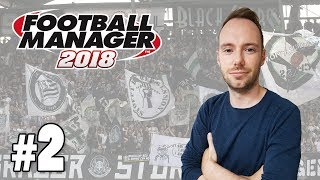 Let's Play Football Manager 2018 #2 - Kaderplanung & Taktik [SK Sturm Graz]