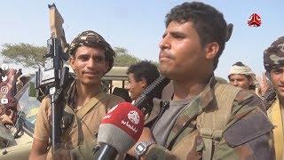 كاميرا يمن شباب توثق سيطرة قوات الجيش على معسكر الطرية في أبين التابع لمليشيا الانتقالي الاماراتي